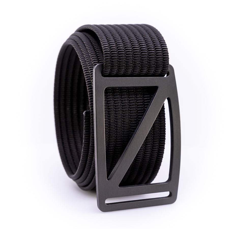 Gunmetal Slope GRIP6 Men's belt with Grey strap swatch-image 360view