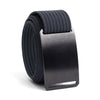 Ninja (Black buckle) GRIP6 Men's belt with Navy strap swatch-image