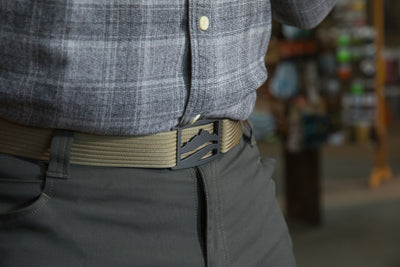 Wasatch Gunmetal Belt