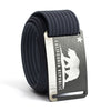 Men's California Flag Buckle GRIP6 belt with Navy strap swatch-image