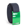 Women's Green Pine Buckle GRIP6 belt with Navy strap swatch-image