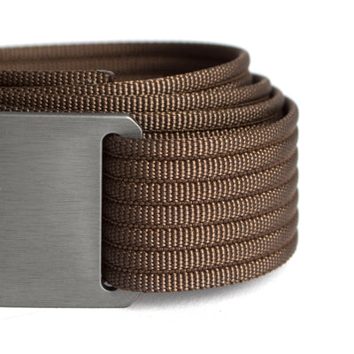 Men's Narrow Gunmetal Belt