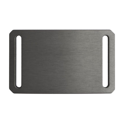 GRIP6 Belts Men's Narrow classic Gunmetal (Grey) buckle swatch-image