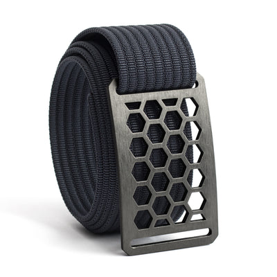 Men's Conservation Honeycomb buckle GRIP6 Navy belt strap swatch-image