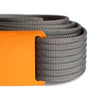 Men's Narrow Foxtail Belt
