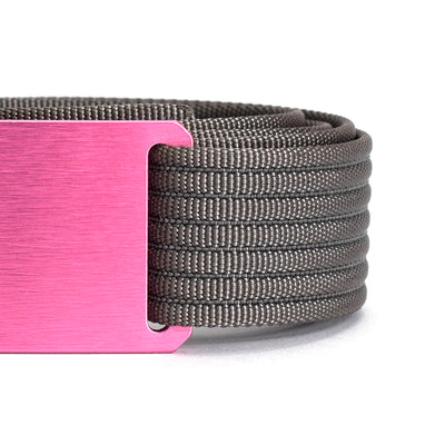 grip6 belts women's series pink (rose) buckle