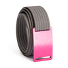 grip6 women's series pink (rose) buckle w/ grey strap swatch-image