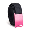grip6 women's series pink (rose) buckle w/ navy strap swatch-image