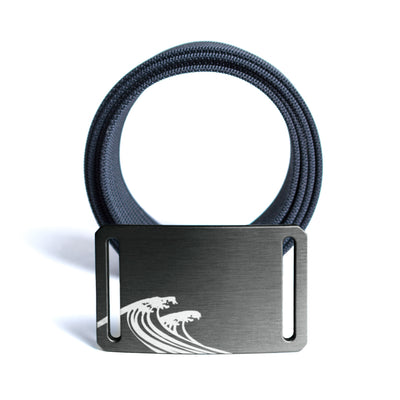 GRIP6 Women's Soul series surf gunmetal buckle w/navy strap