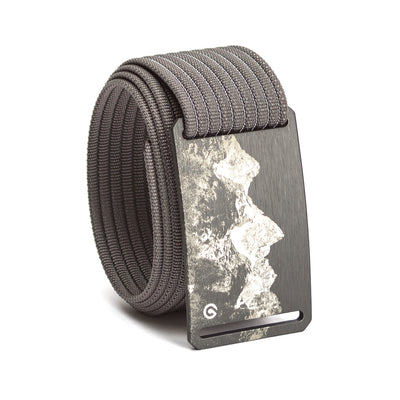 grip6 belts men's teton buckle w/ grey strap swatch-image