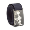 grip6 belts men's teton buckle w/ navy strap swatch-image