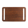 GRIP6 Belts Men's Narrow Walnut wood grain belt buckle swatch-image