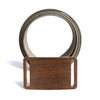 Men's Narrow Walnut Belt