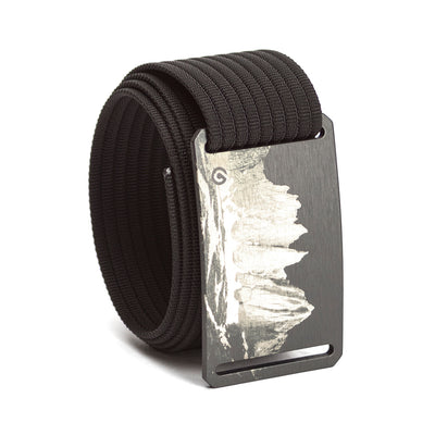 grip6 belts men's mount whitney buckle w/ black strap swatch-image