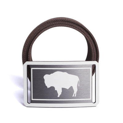 Men's Wyoming Flag Belt