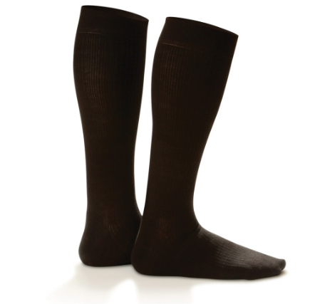 Dr Comfort Micro Nylon Compression Dress Sock (M)