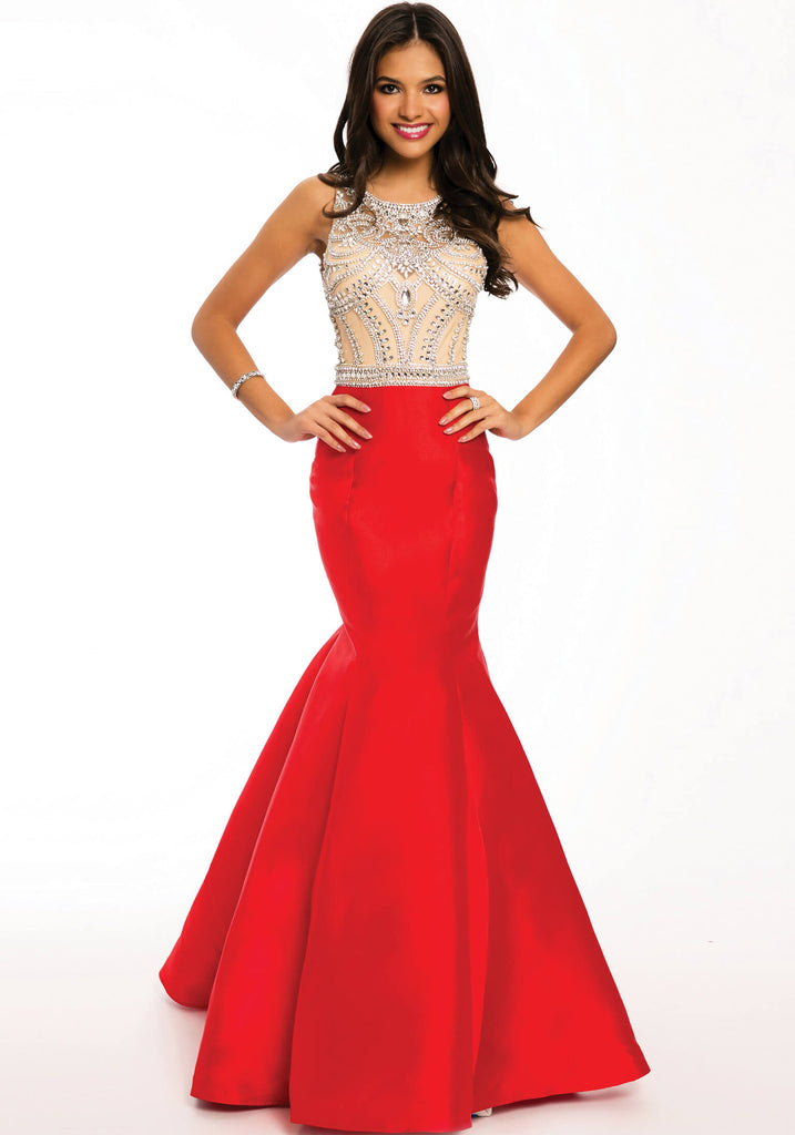 Jovani Red Mermaid Prom Dress 22623 – Olga\'s Bridal Store