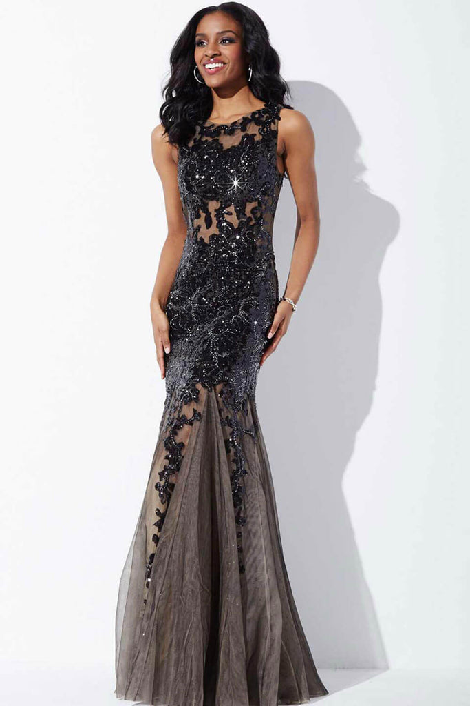 Jovani Royal Sleeveless Prom Dress 24551