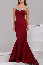 Jovani Embellished Evening Dress 36807