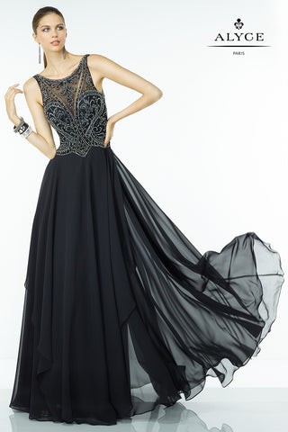 Alyce Paris Black Label Dress Style 5760