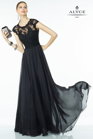 Alyce Paris Black Label Dress Style 5823