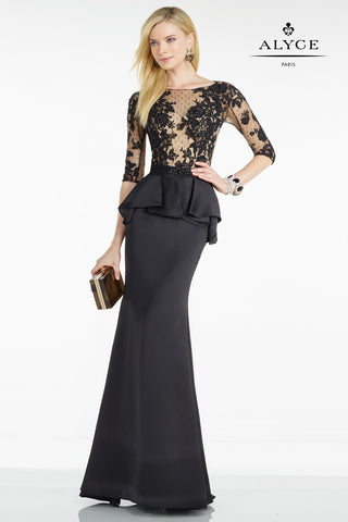 Alyce Paris Black Label Dress Style 5809