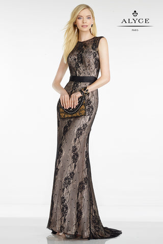 Alyce Paris Black Label Dress Style 5797