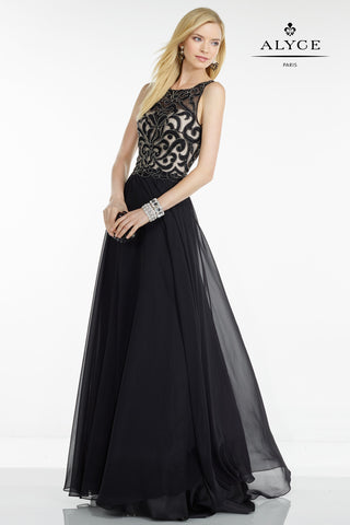 Alyce Paris Black Label Dress Style 5744