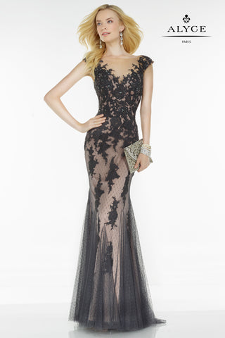 Alyce Paris Black Label Dress Style 5822