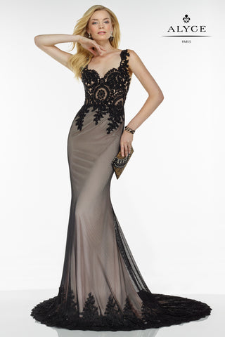 Alyce Paris Black Label Dress Style 5737
