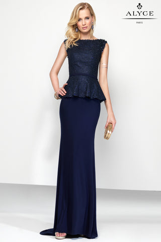 Alyce Paris Black Label Dress Style 5795