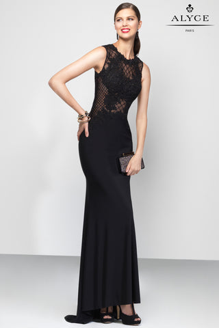 Alyce Paris Black Label Dress Style 5796
