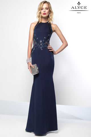 Jovani Sleeveless Jersey Dresses 22884