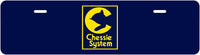 "Chessie System ""Half-Tag"" License Plate"