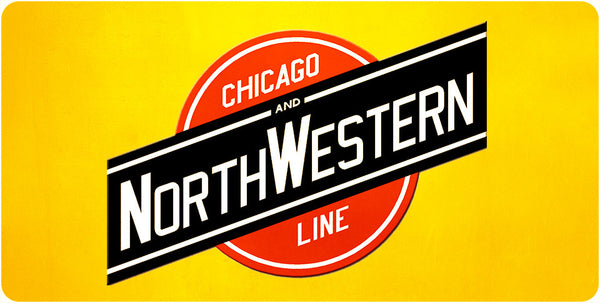 Chicago & North Western Transportation Co. Wall / Desk Plaque