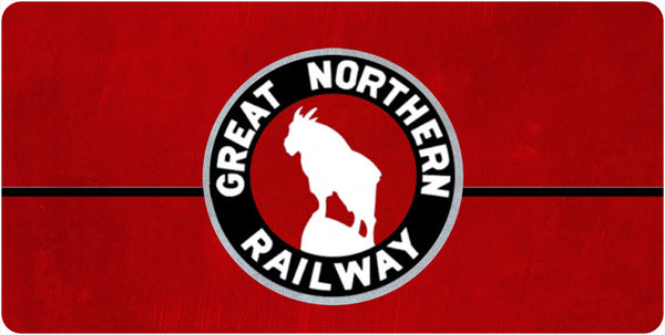 Great Northern RY Wall / Desk Plaque