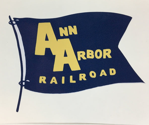 Ann Arbor Flag Vinyl Sticker