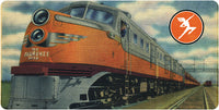 Milwaukee Road Wall / Desk Plaque