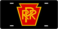Pennsylvania RR (PRR) Keystone License Plate
