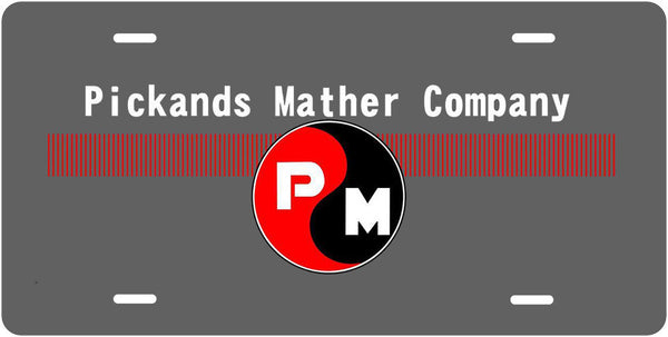 Pickands Mather Co License Plate