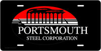 Portsmouth Steel Corp. License Plate