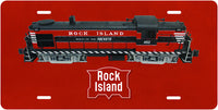 Rock Island RS3 License Plate
