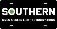 Southern Railway (SOU) Green Light to Innovation License Plate