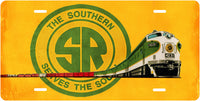 Southern Railway (SOU) No.4231 License Plate