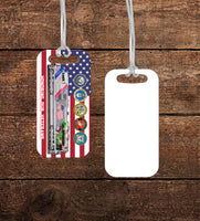 Union Pacific (UP) Veteran's Locomotive Luggage Tag