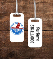 Piedmont Route of the Pacemaker Luggage Tag