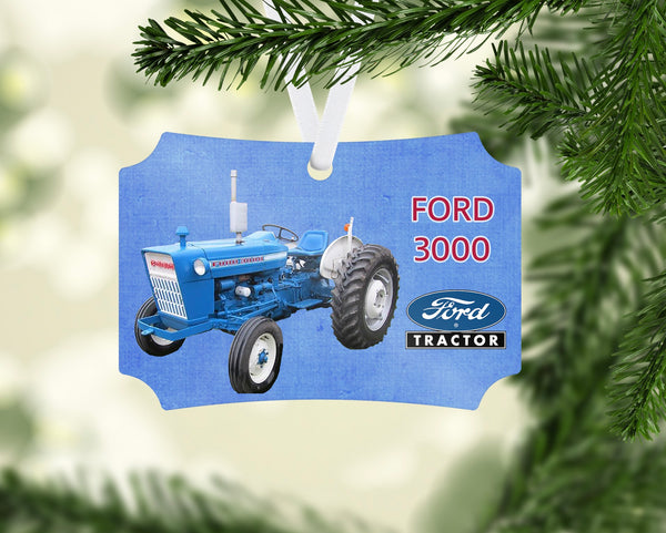 Ford 3000 Series Tractor Ornament