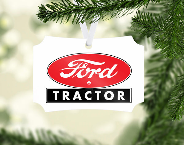 Ford Tractor Ornament