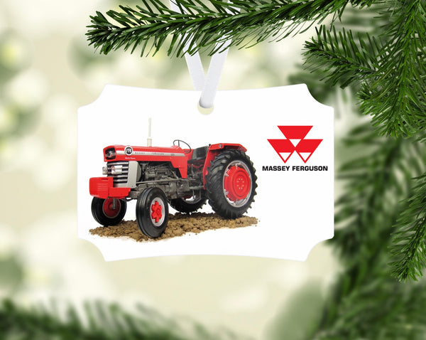 Massey Ferguson 175 Series Tractor Ornament