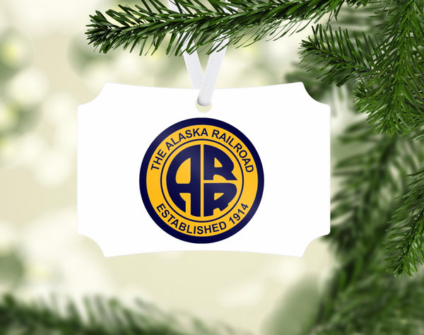 Alaska Railroad Ornament